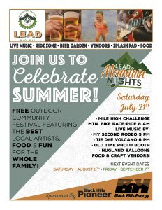 Lead Mountain Nights July 2018